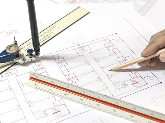 architectural plans project drawing and blueprints rolls with eq